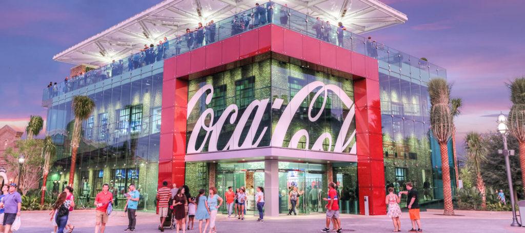 marketing coca-cola, il museo World of Coca Cola