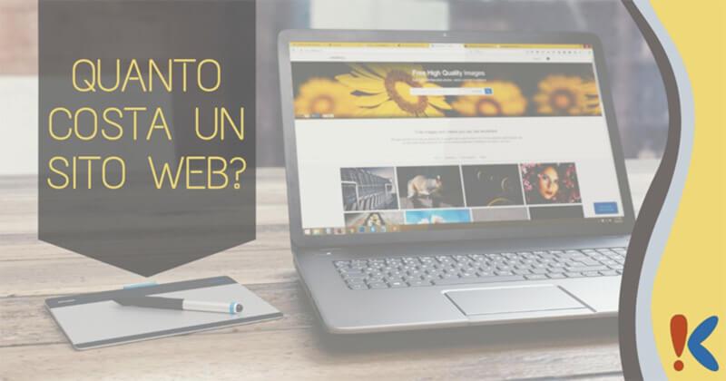 quanto costa un sito web? agenzia web eureka