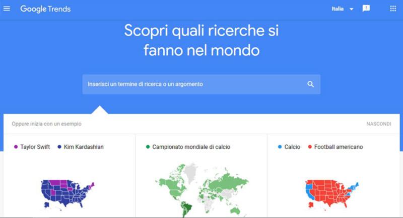 cos'è Google Trends scopri queli ricerche si fanno nel mondo