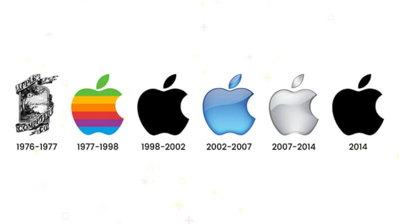 storia loghi marketing apple