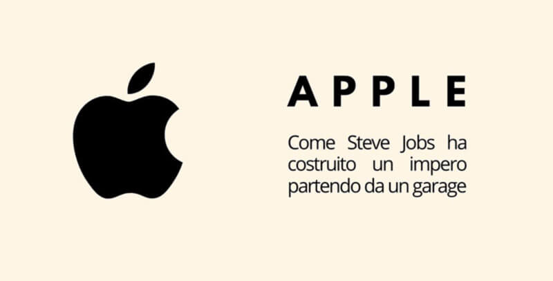 marketing Apple il successo parte da un garage
