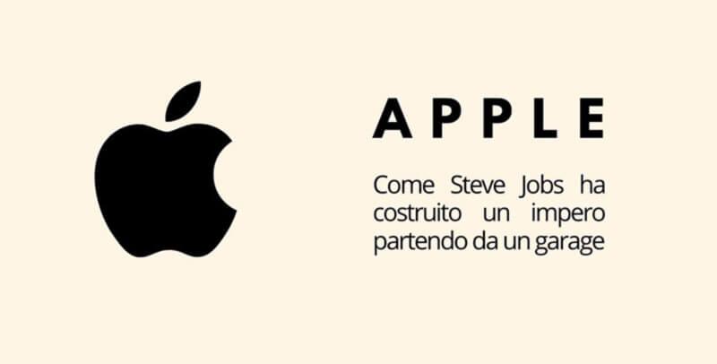 marketing Apple il successo parte da un garage