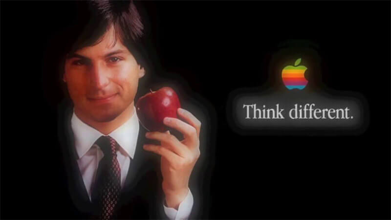 Think Different motto Apple