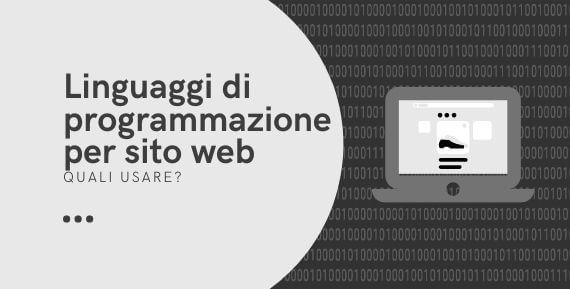 Linguaggi di programmazione per sito web