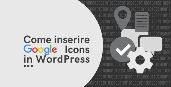 Come installare material icons WordPress