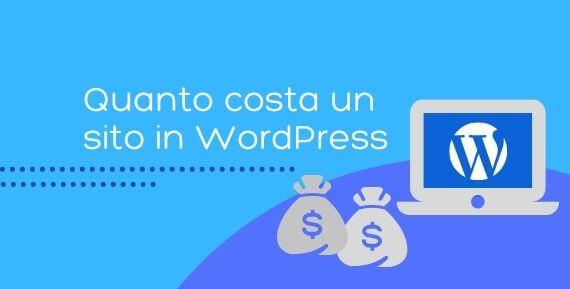 quanto costa un sito in wordpress